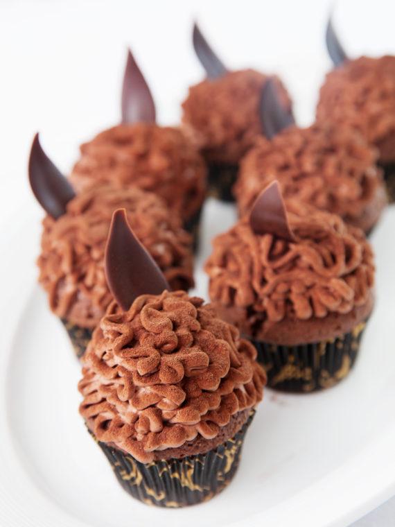 Šokolaadimuffin kakaokreemiga