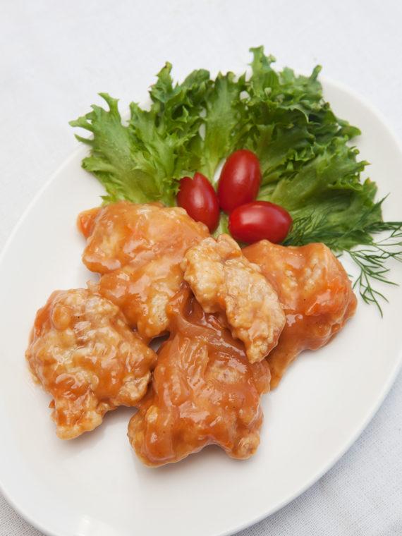 Kana punases kastmes